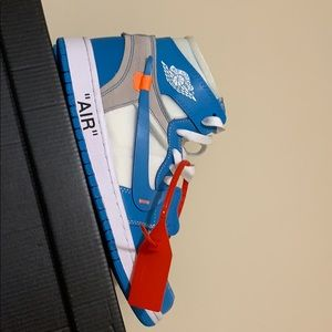 """Real """"off white"""" unc blue ones"""